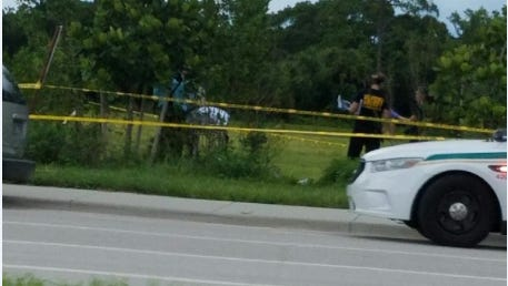 Deputies are investigating a death along Bonita Beach Road near U.S. 41. The death is not suspicious at this time.