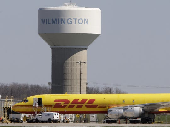 DHL left Wilmington in 2008, taking 8,000 jobs to Kentucky