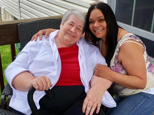 Barbara Tremitiere, left, and her daughter Nicolle in a recent photo.