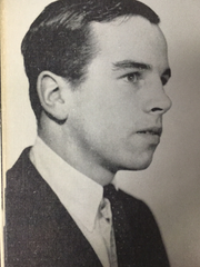 Yearbook photo of Douglas Tompkins, a 1961 graduate of Millbrook High School. Tompkins, who co-founded The North Face and Esprit clothing brands, died Tuesday while kayaking in Chile.