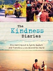 "The ""Kindness Diaries"" stars Leon Logothetis."