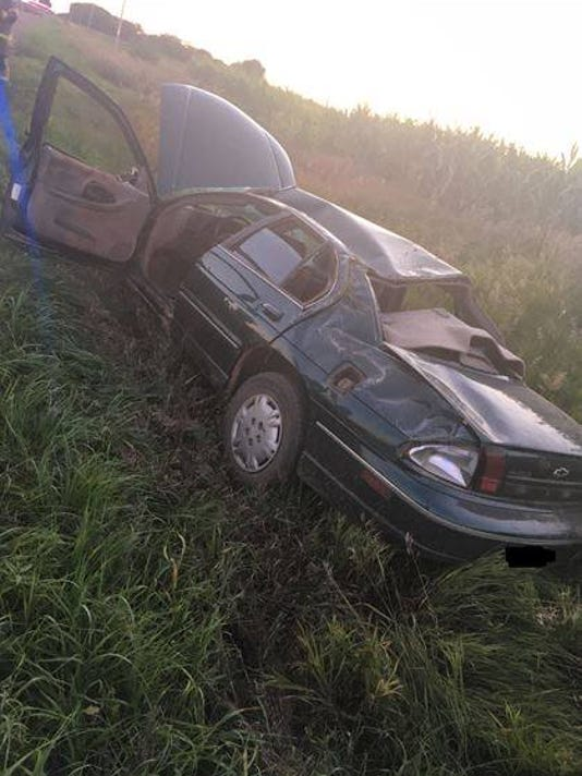 Crash near Vermillion