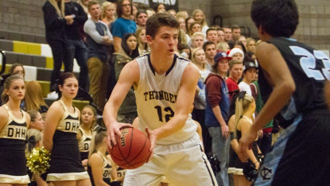 Desert Hills basketball takes on Canyon View Tuesday, Dec. 1, 2015.