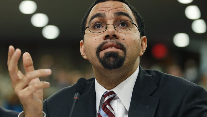Former State Education Commissioner John King Jr. during his tenure he came under fire for his support of Common Core testing.