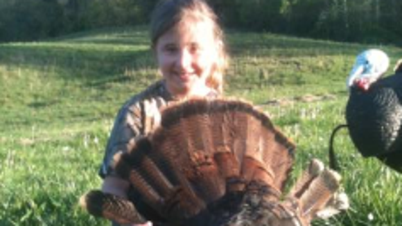 Youth turkey hunters.