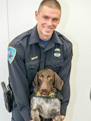 Wayne State University Officer Collin Rose joined the