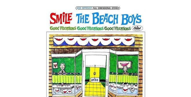 "Artwork for the Beach Boys' ""Smile"" from 1966/1967."