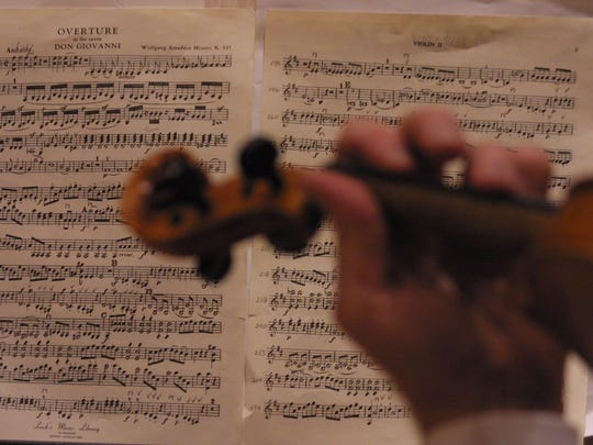 Orchestral audition: The musical equivalent of getting naked and letting a team of experts look for flaws.
