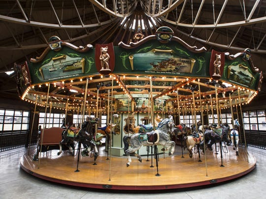The carousel at Bear Mountain State Park in Stony Point on January 14, 2017.