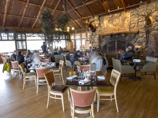 The restaurant at the Bear Mountain Inn at Bear Mountain State Park in Stony Point on January 14, 2017.