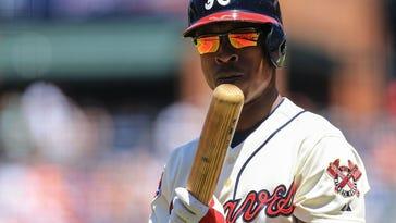 USP MLB: SAN FRANCISCO GIANTS AT ATLANTA BRAVES S BBN USA GA