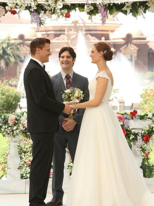 Bones wedding