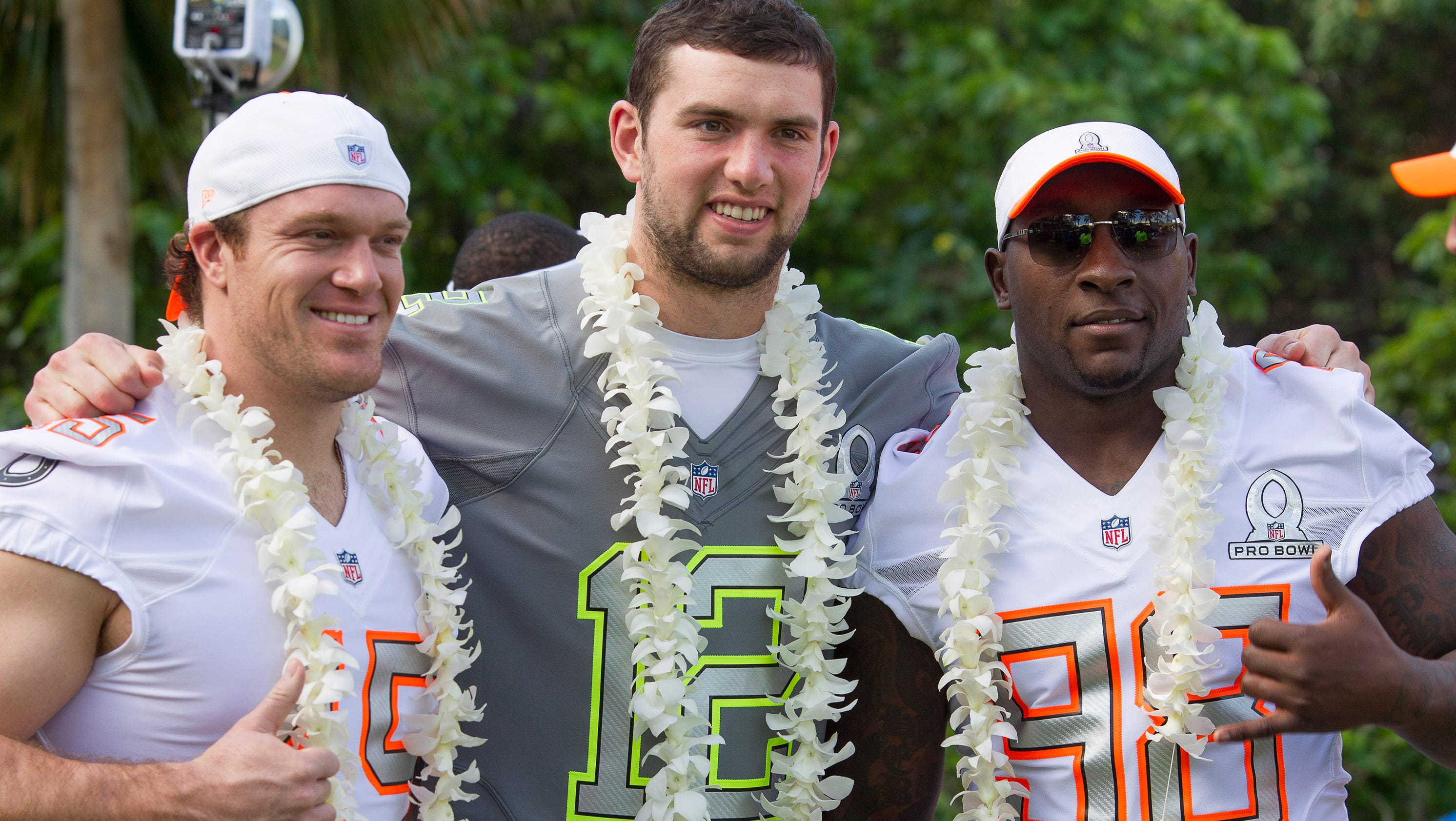 Colts players, coaches enjoy time at NFL Pro Bowl