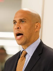 Sen. Cory Booker, commemorating the opening of Conduent