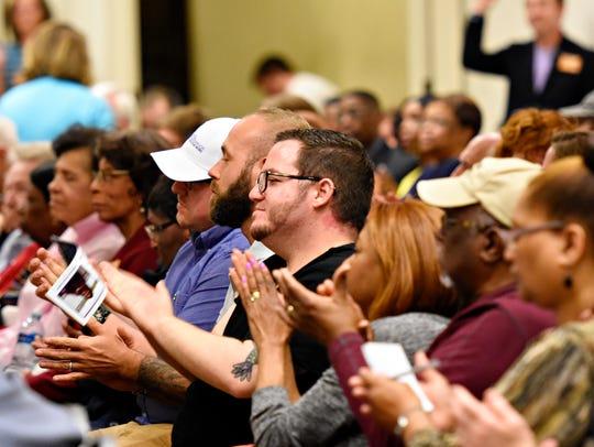 The York County Young Democrats host democratic debates
