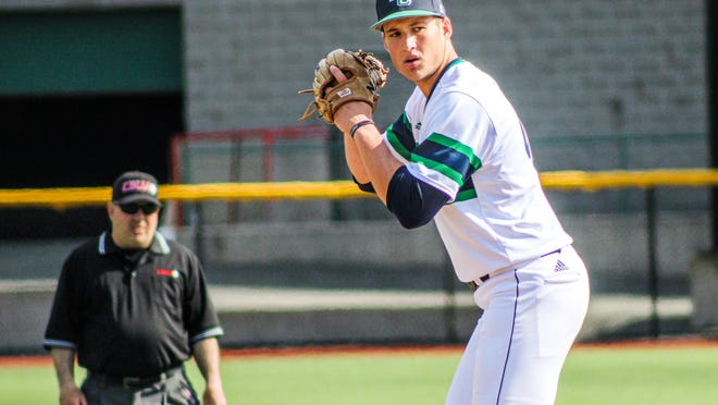 Rollinsford's Kevin Gould had a stellar career as an all-conference pitcher at Endicott College. He hopes to make the jump to the pro level if the opportunity arises.