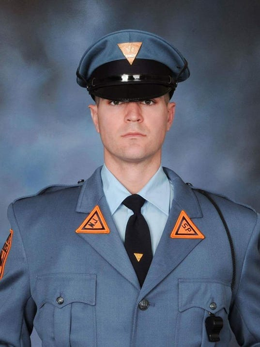 Glassboro trooper dies in salem county crash new jersey for Cherry hill motor vehicle inspection