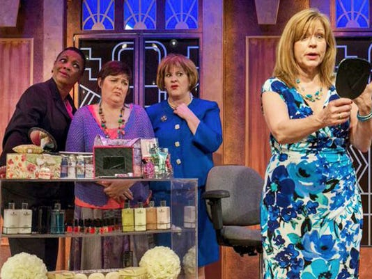 """Breast cancer survivors pack the cast of """"Menopause the Musical: The Survivors Tour"""" coming in September to Whitaker Center, Harrisburg. The tour will benefit Susan G. Komen for the Cure."""