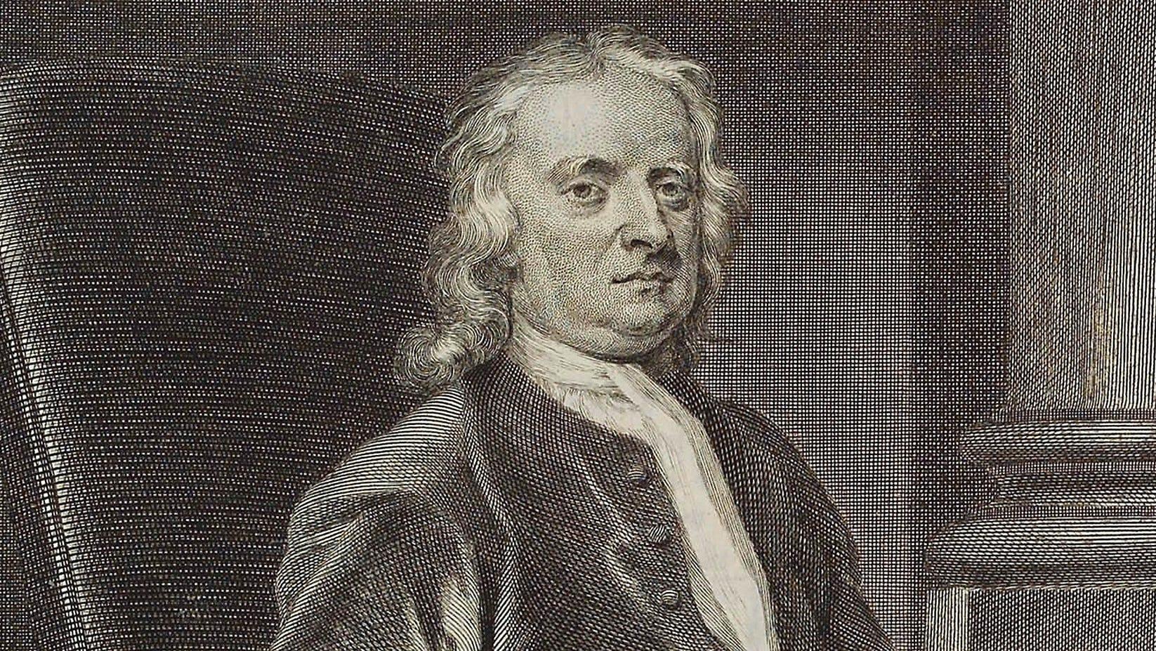 Sir Isaac Newton in a 1726 painting by John Vanderbank.