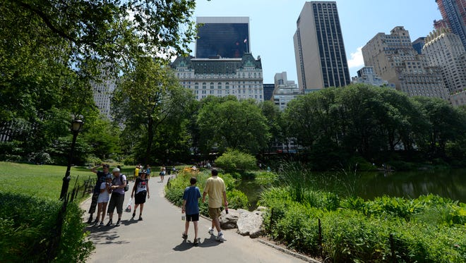 A variety of walking tours of New York's Central Park are being offered by the park's nonprofit conservancy group.