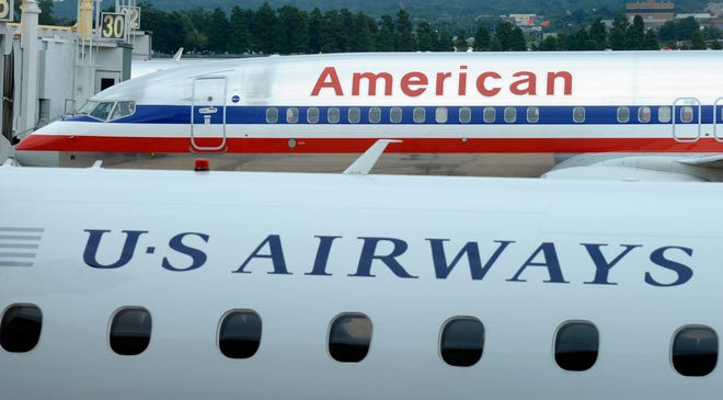 American Airlines and US Airways reached a settlement with the Justice Department for a merger.