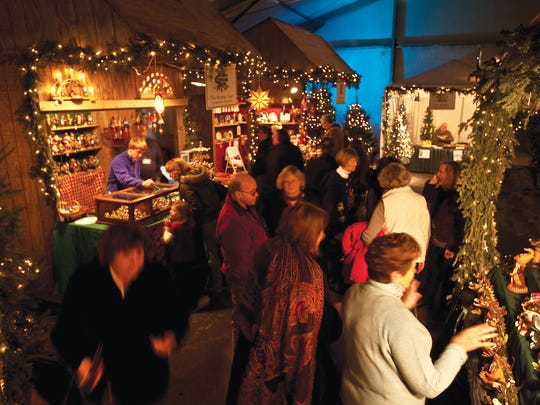 Artisans from around the country and the globe travel to Elkhart Lake to sell their wares at the Osthoff Resort's Old World Christmas Market in December.