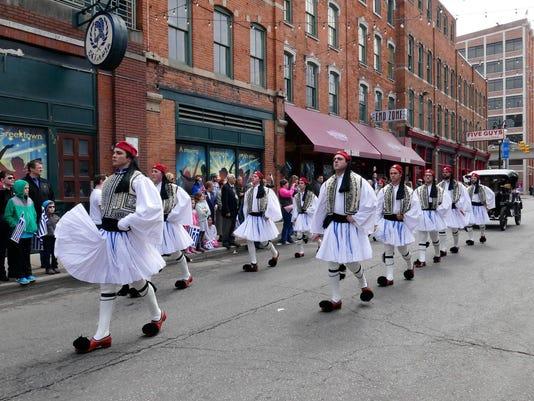 Detroit Greek Parade - Evzones