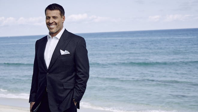 Best-selling author and entrepreneur Tony Robbins