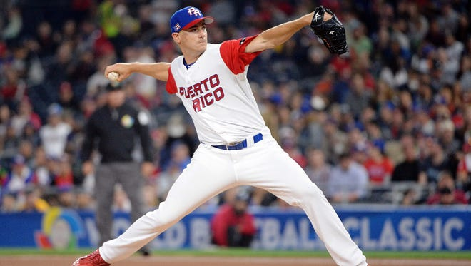 Puerto Rico pitcher Seth Lugo of the Mets gets the start in tonight's WBC Final against the United States.