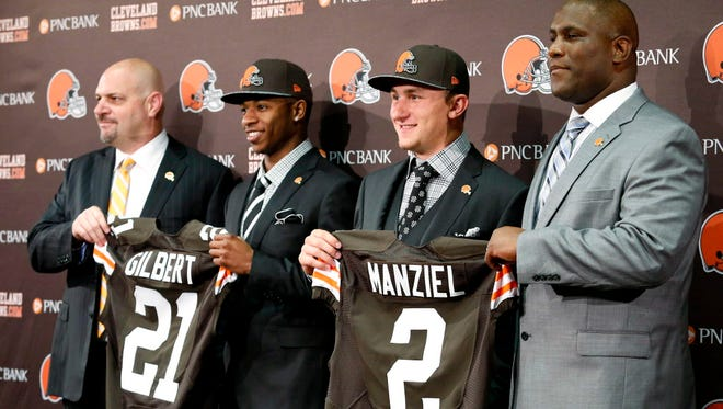 Having two first-round picks hasn't worked out well for the Browns, as Johnny Manziel and Justin Gilbert prove.
