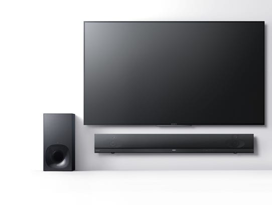 A sound bar, like this loud Sony HTNT5 model, can seriously