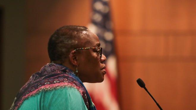Traci Wilson-Kleekamp, president of activist group Race Matters, Friends.