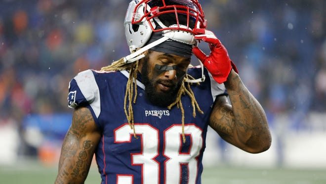 Running back Brandon Bolden is one of eight Patriots who have opted out of the 2020 NFL season.