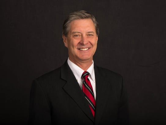 University of Utah athletics director Chris Hill