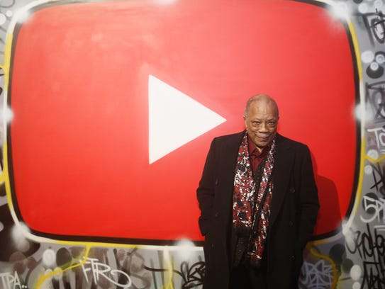 Quincy Jones on Jan. 26, 2018 in New York City.