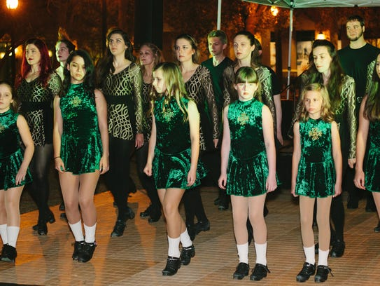 Get in step with The Irish Step Dancers at the Saint