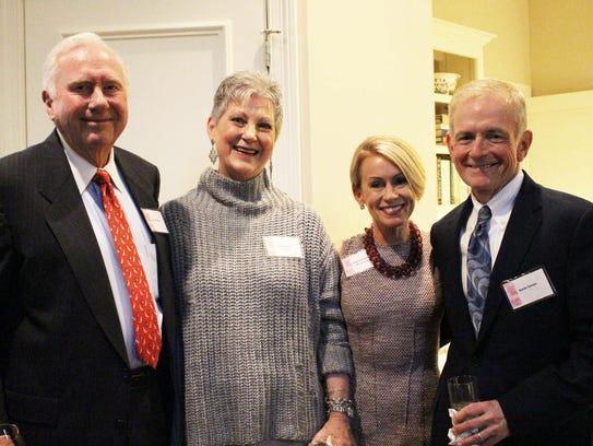 Jim McGregor, Carolyn Ermey, Jana and Randy Parham.