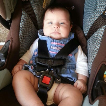 Police are searching for a missing 3-month-old, Janna