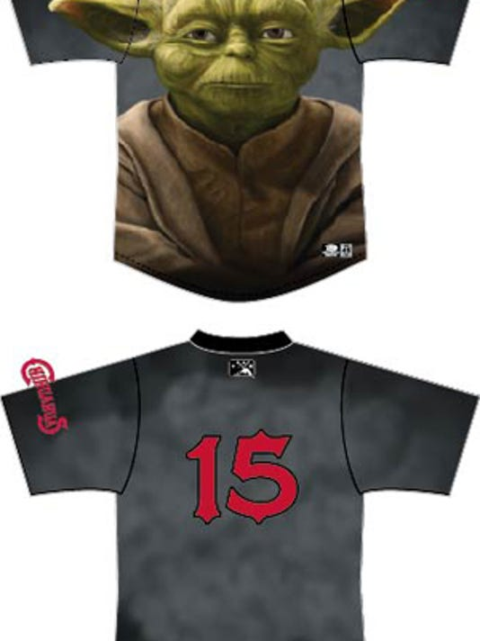 The El Paso Chihuahuas will wear special 'Star Wars' jerseys on Aug. 12.