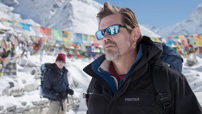 """Josh Brolin as Beck Weathers, in  """"Everest."""" The film debuts in IMAX/3D exclusively on Friday, Sept. 18, 2015."""