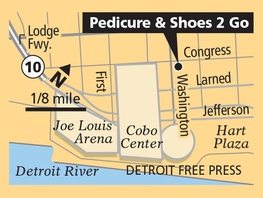 Pedicure & Shoes 2 Go