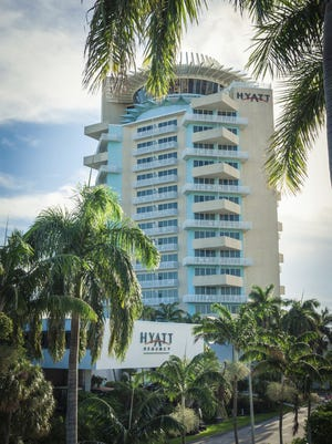 Hyatt Hotels posted a profit of $47M in the fourth quarter of 2014.