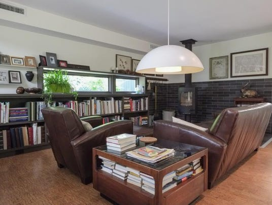 Hot property mid century retreat minutes from downtown - Mid century modern wood stove ...