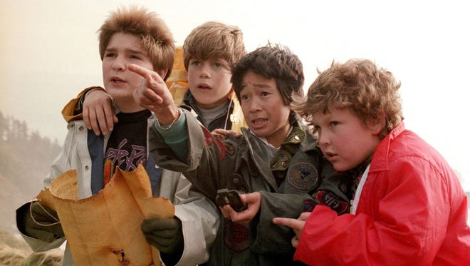 "Filmed in Cannon Beach and Astoria, see ""The Goonies"" April 27 at the Historic Elsinore Theatre."