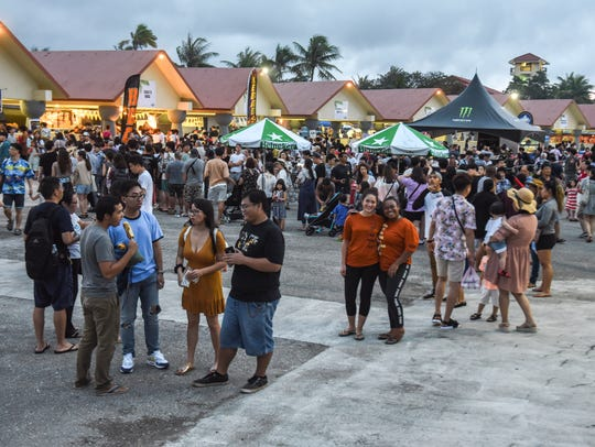 The opening of the 74th Guam Liberation Festival is shown in this July 11, 2018, file photo.