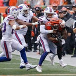 Bills offense horrendous in 20-16 loss to the Bengals