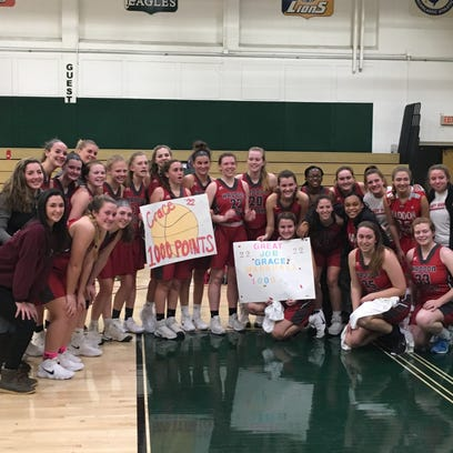Girls' hoops notebook: Haddon Twp's Marshall hits milestone