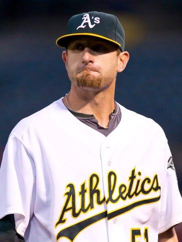 June 9, 2010; Oakland, CA, USA;  Oakland Athletics