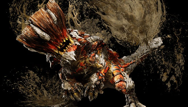 The headstrong Barroth returns in Monster Hunter XX.