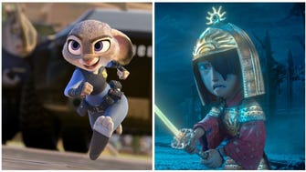Judy Hopps (voiced Ginnifer Goodwin) in 'Zootopia' and Kubo (voiced by Art Parkinson) from 'Kubo and the Two Strings.'